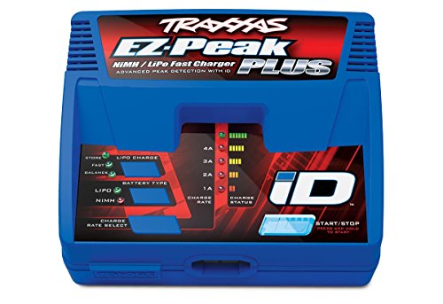 Traxxas 2970 EZ-Peak Plus 4-Amp NiMH/LiPo Fast Charger with iD Auto Battery Identification (Cheap Lipo Batteries compare prices)
