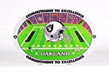 NFL Oakland Raiders Placemats (4 Pack) at Amazon.com
