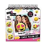 Canal Toys Only 4 Girls Emoji Pillow Kit