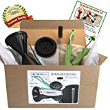 60% OFF Spiralizer. The Only Spiral Slicer Bundle on Amazon with FREE $69 Value Bonus. 100% Lifetime Guarantee. Stainless Steel Japanese Blades, 2 Julienne Sizes.