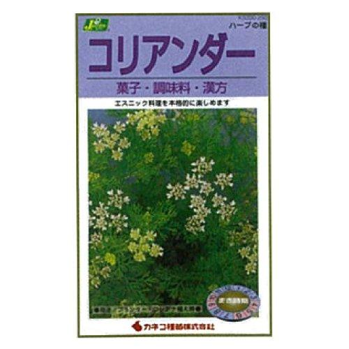 カネコ種苗 園芸・種 KS200シリーズ コリアンダー 菓子・調味料・漢方 草花200 292