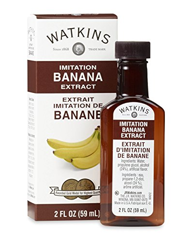Watkins All Natural Extract, Imitation Banana, 2 Ounce (Pack of 6)  (Packaging may vary)