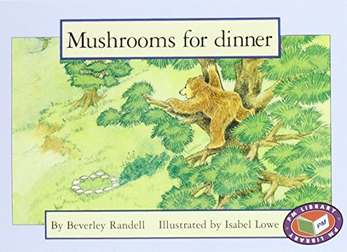 PM Blue Set 3 Fiction Level 11 (8): Mushrooms for Dinner PM Blue Set 3 Level 11