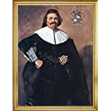 "Frans Hals Tieleman Roosterman - 18"" x 24"" Framed Premium Canvas Print"
