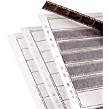 Hama 002251 24 x 36mm Negative File Sleeves and Glassine Matt 100 Sheets