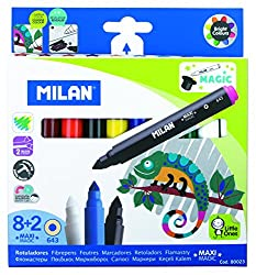 MAXI MAGIC- 8 fibrepens+2 magic fibrepens