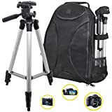 PHOTOGRAPHY: 50 Tripod & Sleek Digital SLR Camera/Camcorder Padded Backpack For The Photo Enthusiast Or Casual...
