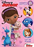 Disney Junior Doc McStuffins: Lets Be Friends: Gigantic Book to Color with Stickers