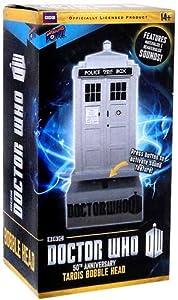 Doctor Who 50th Anniversary TARDIS Bobble Head w/Sound.