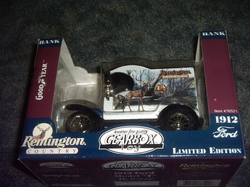 Remington Country Ford 1912 Model T Delivery Truck Bank