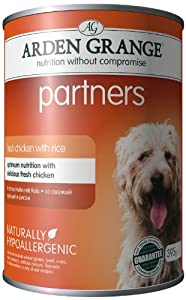 Arden Grange Partners Fresh Chick, Rice and Vegetables 6 X 395 g (Pack of 4)