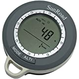 Digital Altimeter with altitude history, Barometer, Compass, Thermometer, Weather Forecaster with digital clock by best medical direct