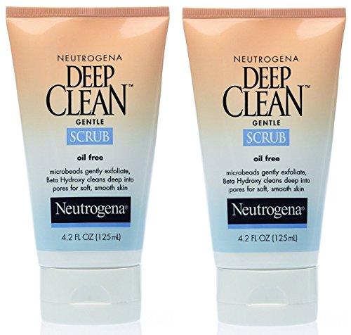 Neutrogena Gentle Scrub Oil Free Deep Clean 4.2 fl oz