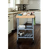 Lovely Get Origami Foldable Kitchen Island Cart Silver from Home Depot
