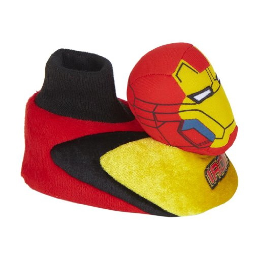 Marvel Avengers Iron Man Toddler Slipper Toggle Head Size 7 / 8