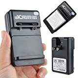 AT LCC AC WALL Dock HOME BATTERY CHARGER for Samsung Galaxy S EPIC 4G /D700/i897/I9000
