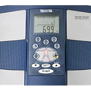 Tanita BC545 Glass Electronic Bathroom Scale