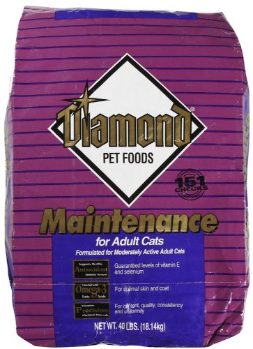 See Diamond Maintenance Formula Chicken Flavor Dry Adult Cat Food, 40-Pound Bag