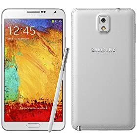 Samsung Galaxy Note 3 lll Unlocked Phone N900, 32 GB, White