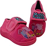 Girls Peppa Pig Muddy Puddles Slippers