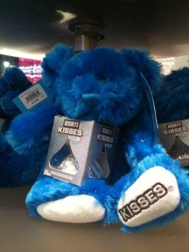 Hershey's Kiss Plush Blue Teddy Bear ( candy