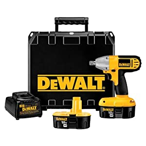 DEWALT DC821KA 18-Volt 1/2-Inch Compact Impact Wrench from DEWALT