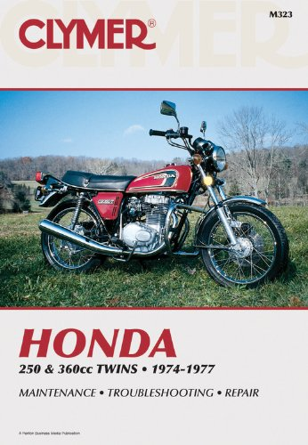 Clymer Honda 250 & 360Cc Twins, 1974-1977: Service, Repair, Performance front-608556