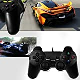 Vmargera-USB-Double-Shock-Controller-GamePad-for-PC-Computer-Laptop-Black