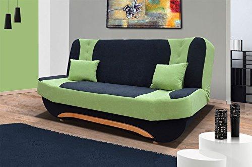 Divano Ewa divano con letto radio Tino 2-posti 2 con letto funzione 01195