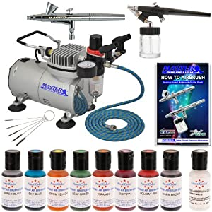 Complete Master Airbrush Cake Decorating Airbrush System : Amazon.com: Complete Master Airbrush Cake Decorating Set ...