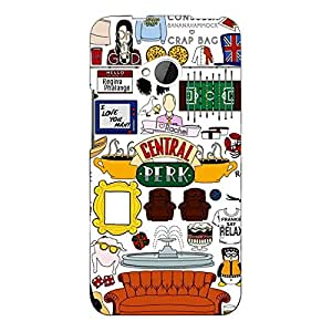 Jugaaduu FRIENDS Back Cover Case For HTC One M7