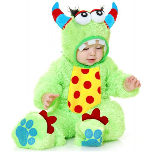 Lime Monster Baby Costume