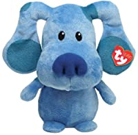 Ty Pluffies Blue Blue's Clue Nickelodeon Plush Soft Toy Blue from Ty