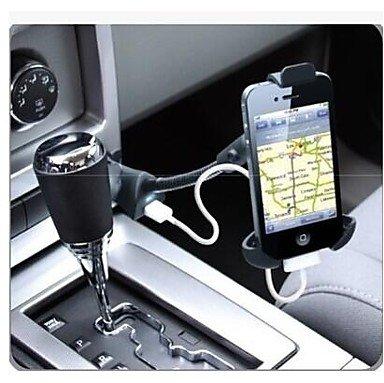 Peach Car Phone Holder / Single Usb Port / Cigarette Lighter Car Charger 5V 1.5 Phone Holder
