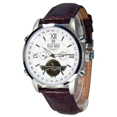 constantin durmont men 39 s watch calendar cd cale at lt. Black Bedroom Furniture Sets. Home Design Ideas