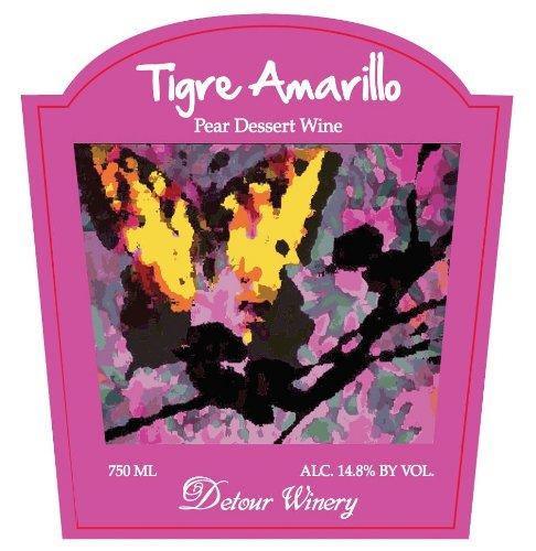 Nv Detour Tigre Amarillo Pear Dessert Wine 750 Ml