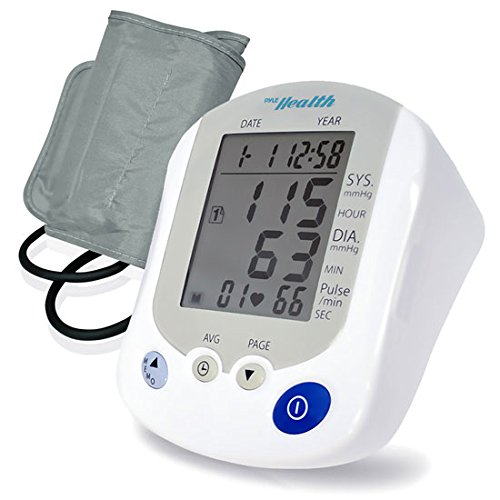 Pyle PHBPB20 – Blood Pressure Monitor with Easy to Read Digital Display – One Touch Operation Ideal for Children or Adults