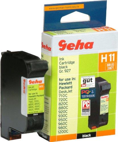 Cartouche d'encre recyclée hp 51645AE, H11, noir contenu: 42 ml, compatible avec le No. OEM 5164...