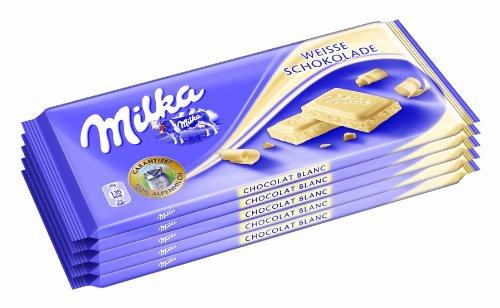 Milka Weisse 5er, 1er Pack (1 x 500 g)