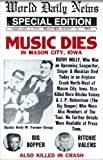 Music Dies Headline Buddy Holly, Big Bopper, and Richie Valens Airplane Crash 14