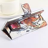Baiwei Easbuy Bunt Pu Leder Kunstleder Flip Cover Tasche