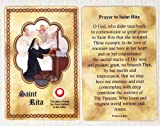 img - for St. Rita Relic Card book / textbook / text book