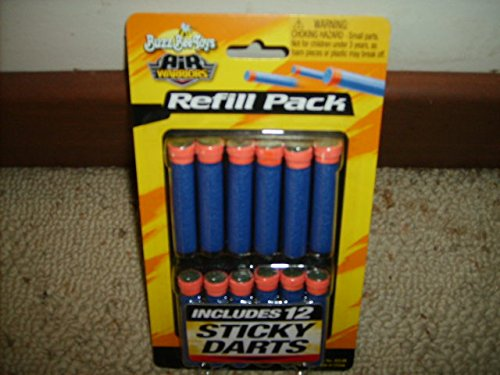 Buzz Bee Air Warriors Sticky Darts - 12 Dart Refill Pack