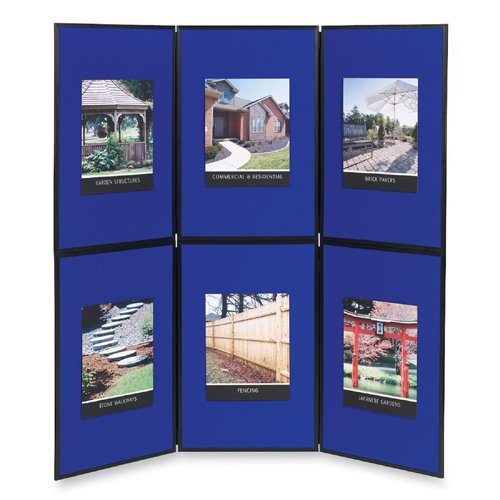 Apollo NOBO ShowBoard Presentation System For Tabletop or Floor Display 6-Panel ShowBoardB00006IF5G : image
