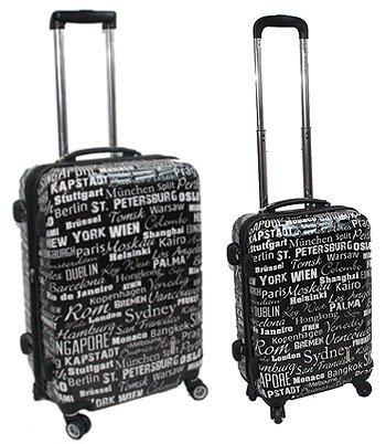 2-teiliges Trolley-Koffer-Set Reisekoffer Hartschale
