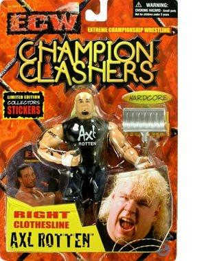 ECW Champion Clashers AXL ROTTEN Figure - 1