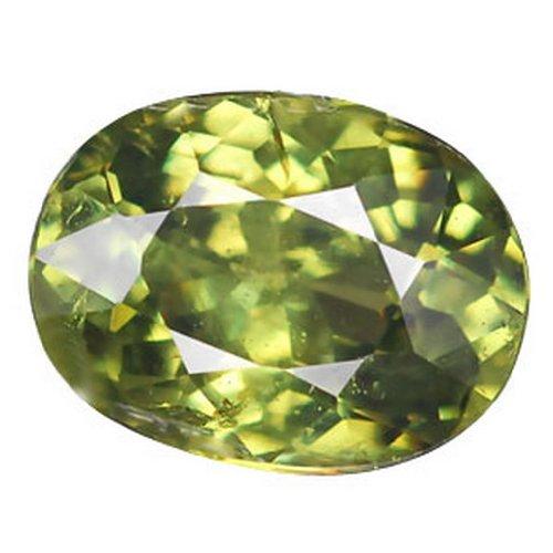 1.37 Ct Rare Top Green Namibian Demantoid Garnet Aaa Gem