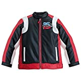 Disney Store Cars Lightning McQueen Faux Leather Racing Jacket Size XS 4 (4T)