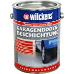 2,5l Wilckens Garagenboden Beschichtung Silbergrau RAL 7001