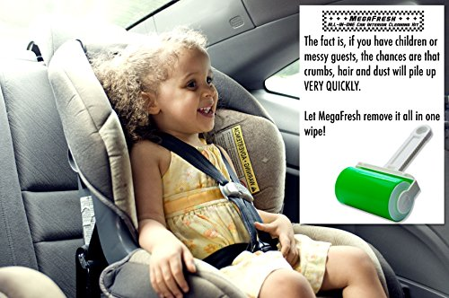 megafresh car interior cleaner set 2 pieces wax free professional dust pet hair remover kit. Black Bedroom Furniture Sets. Home Design Ideas